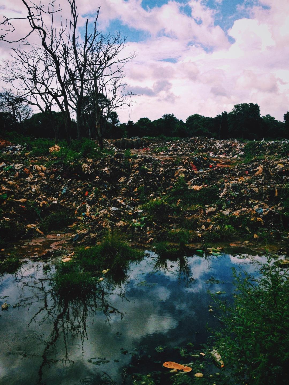 Dambulla Trash Dump